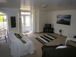 holiday cottage in betws-y-coed with patio doors